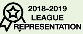 2018-2019 League Representation